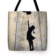 Ballons Girl Tote Bag