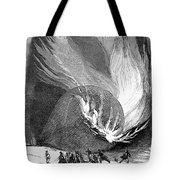 Balloon Accident, 1850 Tote Bag
