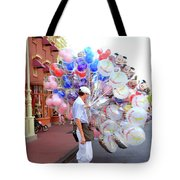Balloon Boy Tote Bag