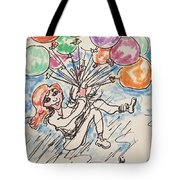 Balloon Flight  Tote Bag