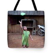 Balloon Girl Tote Bag