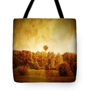 Balloon Nostalgia Tote Bag by Michael Garyet