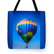 Balloon Over Wine Country Tote Bag