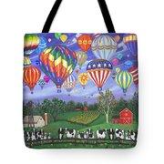 Balloon Race Two Tote Bag