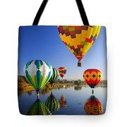 Balloon Reflections Tote Bag