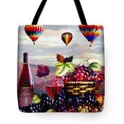 Balloon Ride At Dawn Tote Bag