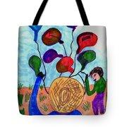 Balloon Sales Tote Bag