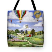 Ballooning In The Country One Tote Bag