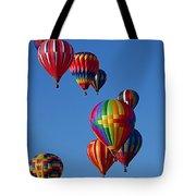 Balloons In Albuquerque Tote Bag