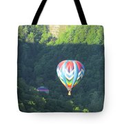 Balloons Over Letchworth Tote Bag