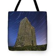 Ballybrit Castle Star Trails Tote Bag
