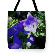 Baloon Flower Tote Bag
