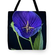 Baloon Flower In Early Morning Tote Bag