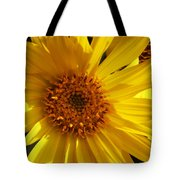 Balsamroot Flower Tote Bag