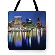 Baltimore Blue Hour Tote Bag