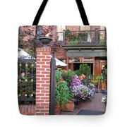 Baltimore Cafe          By  Jean Carton Tote Bag