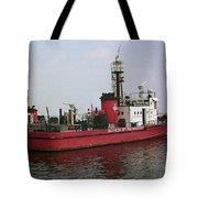 Baltimore Fire Boat 2003 Tote Bag