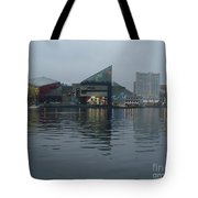 Baltimore Harbor Reflection Tote Bag