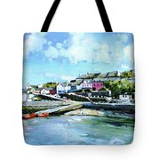 Baltimore Harbour County Cork Tote Bag