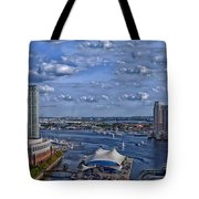 Baltimore Maryland Inner Harbor Tote Bag