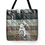 Baltimore Orioles Pitcher - Chris Tillman - Spring Training Tote Bag