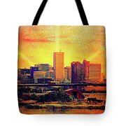 Baltimore Sunrise Tote Bag