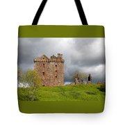Balvaird Castle Ruins Scotland Tote Bag