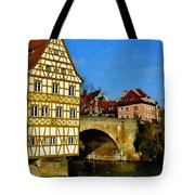 Bamberg Townhall - Germany H A Tote Bag