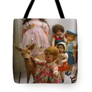 Bambi And Baby Tote Bag