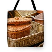 Bamboo Baskets Tote Bag