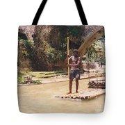 Bamboo Boat Tote Bag