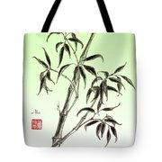 Bamboo Drawing  Tote Bag