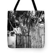 Bamboo Fence Tote Bag