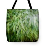 Bamboo In The Wind Tote Bag