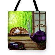 Bamboo Morning Tea Tote Bag
