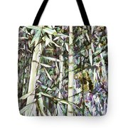 Bamboo Sprouts Forest Tote Bag