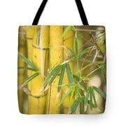 Bamboo Stalks Tote Bag