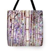 Bamboo Texture Tote Bag