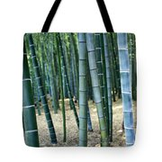 Bamboo Tree Forest, Close Up Tote Bag