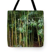 Bamboo Wind Chimes  Waimoku Falls Trail  Hana  Maui Hawaii Tote Bag