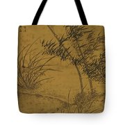 Bamboos And Orchids In The Wind Tote Bag