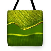 Banana Leaf Lines Tote Bag
