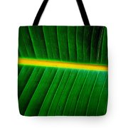 Banana Plant Leaf Tote Bag