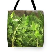 Banana Plantation Tote Bag