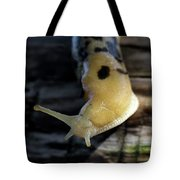Banana Slug Closeup Tote Bag