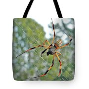 Banana Spider Tote Bag