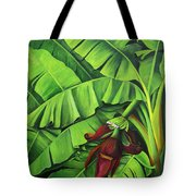 Banana Tree Flower Tote Bag