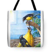 Bananaquits And Bananas Tote Bag