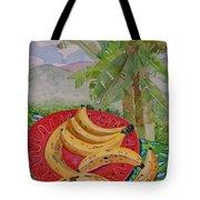 Bananas On A Plate Tote Bag