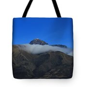 Band Of Cloud On Mount Cotacachi Tote Bag